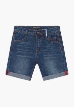 Lemon Beret - SMALL BOYS BERMUDA - Jeansshort - dark blue