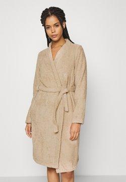 Anna Field - TERRY BATHROBE  - Dressing gown - beige