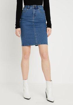 Vero Moda Tall - VMHOT PENCIL SKIRT  - Gonna a tubino - medium blue denim