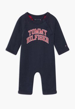 Tommy Hilfiger - BABY COVERALL - Combinaison - blue