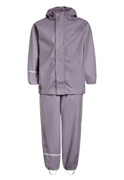 CeLaVi - RAINWEAR SUIT BASIC SET WITH FLEECE LINING - Regnbyxor - nivana