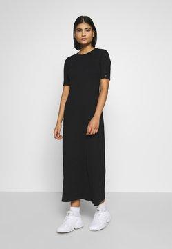 Calvin Klein - MIDI DRESS - Maxikleid - calvin black