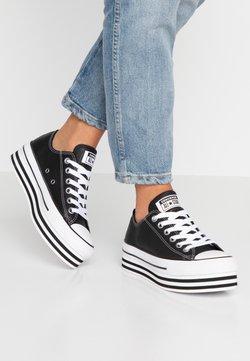Converse - CHUCK TAYLOR ALL STAR LAYER BOTTOM - Zapatillas - black/white