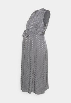 Seraphine - MARLA BUTTON FRONT MIDI DRESS - Vestido camisero - pebble