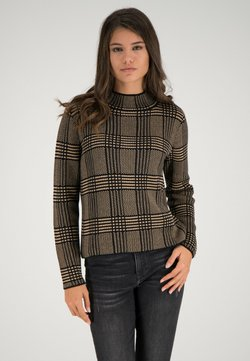 one more story - Strickpullover - schwarz-multicolor