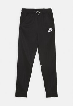 Nike Sportswear - TAPERED PANT - Träningsbyxor - black/whte