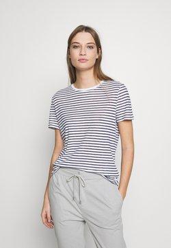 DRYKORN - ANISIA - T-Shirt print - navy/white