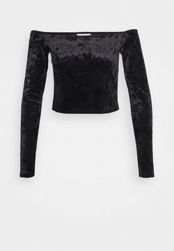 Topshop - BARDOT - Pitkähihainen paita - black