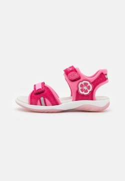 Superfit - SUNNY - Riemensandalette - rot/rosa