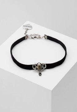 Alpenflüstern - KROPFBAND HEDY - Halskette - schwarz