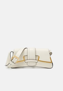 Alberta Ferretti - SHOULDER BAG SMALL BUCKLE - Handtasche - beige