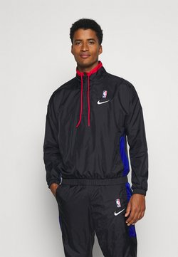Nike Performance - NBA CITY EDITION TRACKSUIT - Trainingspak - black/rush blue/university red