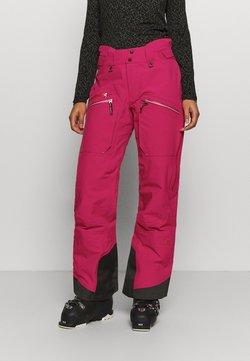 State of Elevenate - WOMENS BACKSIDE PANTS - Talvihousut - pink