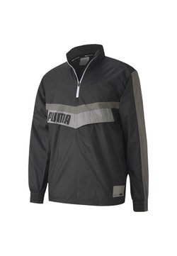 Puma - TRAIN ZIP JACKET - Windbreaker - black-ultra gray-puma white