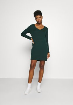 Vero Moda - VMDIANE V NECK DRESS  - Etuikleid - ponderosa pine