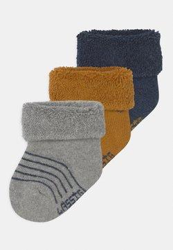 Lässig - NEWBORN 3 PACK - Sokken - blue