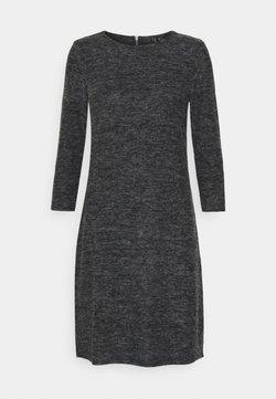 Vero Moda - VMTAMMI ZIP DRESS - Shift dress - dark grey melange