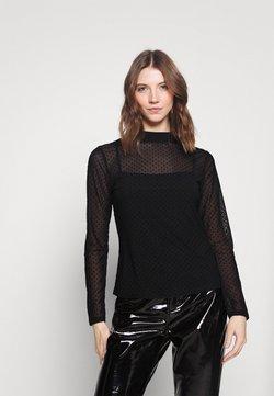 Forever New - FELICIA DOBBY - Langarmshirt - black