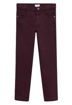 Mango - PERU - Straight leg jeans - bordeaux