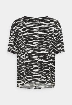 Calvin Klein - Bluse - black/ecru