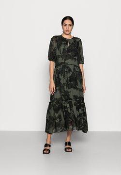 InWear - YASMEEN LONG DRESS - Maxikleid - green camouflage