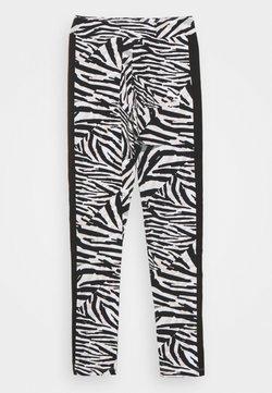 Puma - CLASSICS SAFARI LEGGINGS - Tights - white/black