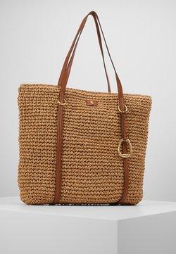 Lauren Ralph Lauren - CROCHET STRAW-TOTE-TTE-MED - Shopping Bag - natural