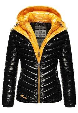 Marikoo - Winterjacke - black/yellow