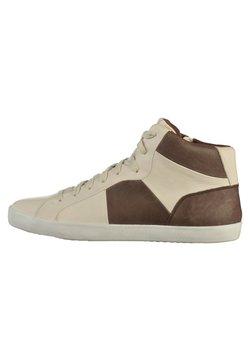 Geox - Sneaker high - white/coffee