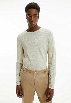 Calvin Klein - Strickpullover - bleached stone