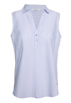 TOM TAILOR - BLOUSE STRIPED - Bluse - blue dobby
