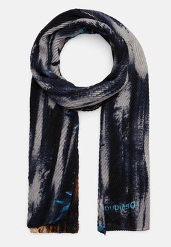 Desigual - FOUL MAYONG - Écharpe - blue