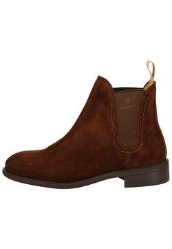 GANT - Ankle Boot - dark brown