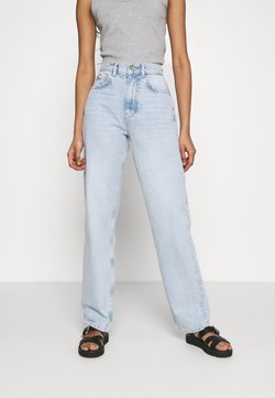 Gina Tricot - HIGH WAIST - Relaxed fit jeans - sky blue