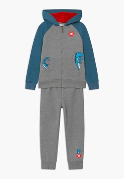 Converse - COLORBLOCK DINO SET - Survêtement - grey heather