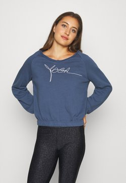 Yogasearcher - BIOSWEATY - Sweatshirt - midnight