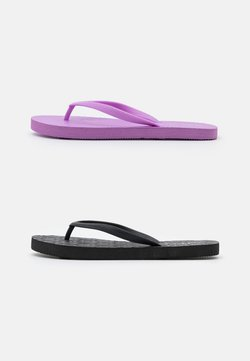 Rubi Shoes by Cotton On - THE RUBI 2 PACK  - Tongs - lilac/black