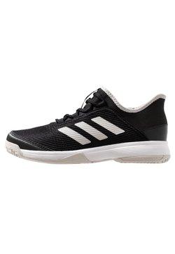 adidas Performance - ADIZERO CLUB - Massakentän kengät - core black/footwear white/grey one