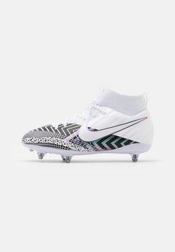 Nike Performance - MERCURIAL JR 7 ACADEMY SG UNISEX - Scarpe da calcio con tacchetti - white/black