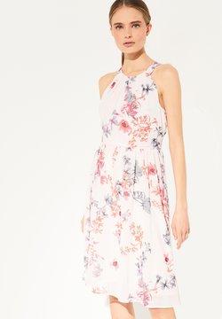 comma - ZARTES MIT SCHLEIFEN-DETAIL - Cocktailkleid/festliches Kleid - light pink floral