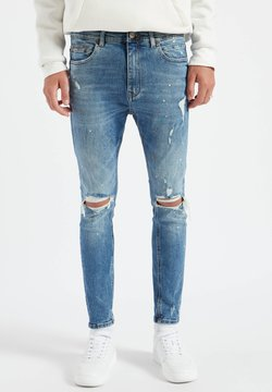PULL&BEAR - Slim fit jeans - stone blue denim