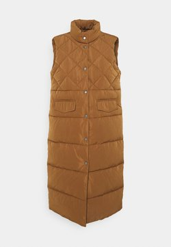 ONLY - ONLSTACY QUILTED WAISTCOAT - Smanicato - toasted coconut