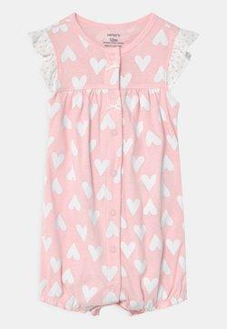 Carter's - HEART - Overall / Jumpsuit - light pink