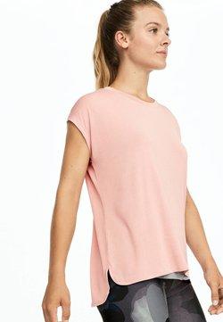 OYSHO_SPORT - T-shirt med print - rose