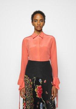 Victoria Victoria Beckham - FLOUNCE CUFF SHIRT - Button-down blouse - lychee pink