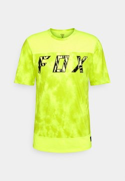 Fox Racing - RANGER ELEVATED - T-Shirt print - neon yellow