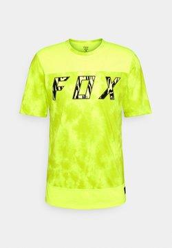 Fox Racing - RANGER ELEVATED - T-Shirt print - neon yellow