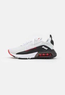 Nike Sportswear - AIR MAX 2090 UNISEX - Sneaker low - photon dust/white/black/university red