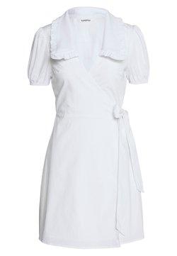 Glamorous - DRESS WITH RUFFLE COLLAR - Kjole - white