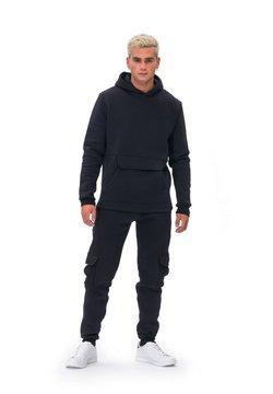 Tom Barron - JUMPSUIT MAN TRACKSUITS - Sweatshirt - black